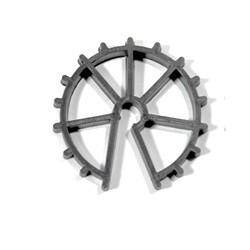 separador encofrado rueda 30mm