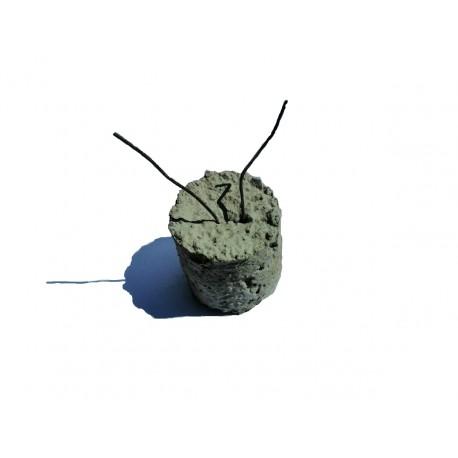 Separadores de hormigón 50x50mm cilíndricos